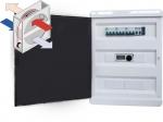 Щиты управления вентиляцией с роторным рекуператором и водяным нагревателем